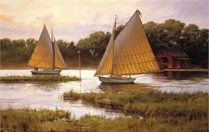 """Don Demers Open Edition Fine Art Canvas Giclée:""""Summer Times"""""""
