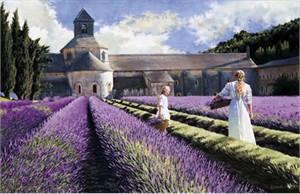 "Heide Presse Limited Edition Print:""Lavender """
