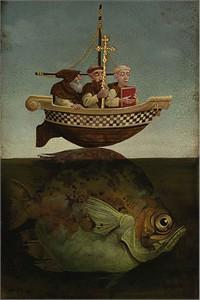"James Christensen Limited Edition Print:""St. Brendan, The Navigator"""