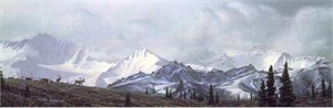"""Stephen Lyman Handsigned & Numbered Limited Edition :"""" In the Heart of Alaska"""""""