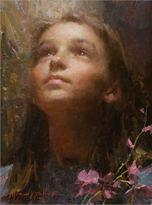 "Morgan Weistling Handsigned & Numbered Limited Edition Canvas Giclee:""Joy"""