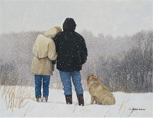 """John Weiss Handsigned & Numbered Limited Edition Canvas:""""Tender Moments"""""""