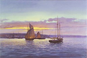 "Paul Landry Limited Edition Print: ""EvenTide"""
