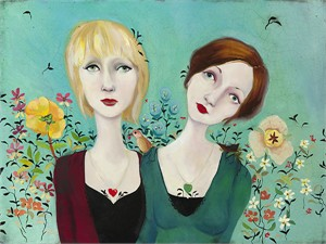 """Cassandra Barney Handsigned and Numbered Limited Edition Giclee on Canvas : """"My Fate is not Your Fate"""""""
