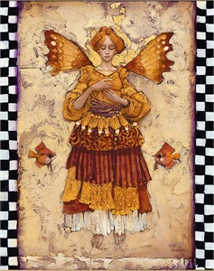 "James C. Christensen Open edition Giclee on Canvas :""Grace"""