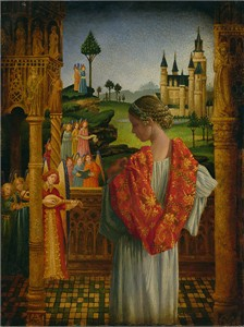 "James Christensen Hand Signed and Numbered Limited Edition Canvas Giclee:""Music of Heaven"""