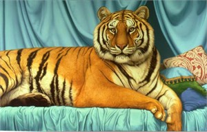 "Tom Palmore Limited Edition Canvas:""Sheeba"""