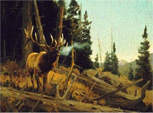 """Luke Frazier Limited Edition Print:""""The Nomad"""""""