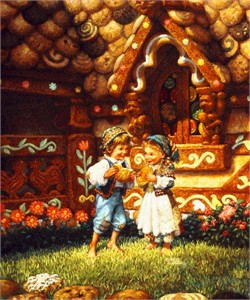 "Scott Gustafson Limited Edition Print:""Hansel And Gretel"""