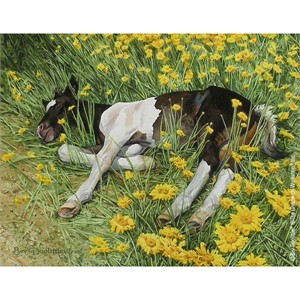 """Bev Doolittle® Hand Signed and Numbered Limited Edition Giclee on Paper Print:""""Spring Break"""" **Custom Frame Special for $49!**"""