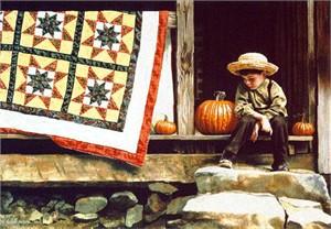 "Heidi Preese Limited Edition Print:""Oliver's Porch"""