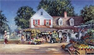 "Paul Landry Limited Edition Canvas: ""Joseph's Corner """