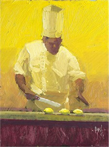 """Ken Auster  Handsigned & Numbered Limited Edition Canvas Giclee:""""The E-Lemon-Ator"""""""