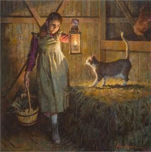 "James Bama Fine Art Anniversary Giclée Canvas:""Black Elk's Great Grandson"""