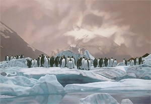 """Rod Frederick Hand Signed and Numbered Limited Edition Giclee on Canvas :""""The Emperors' Ball"""""""