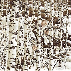 """James C. Christensen Limited Edition Print: """"A Christensen Character Cleverly Camouflaged in a Doolittle Landscape"""""""