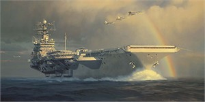 """William Phillips Handsigned and Numbered Limited Edition Canvas Giclee: """"Out of the Squall Line"""""""
