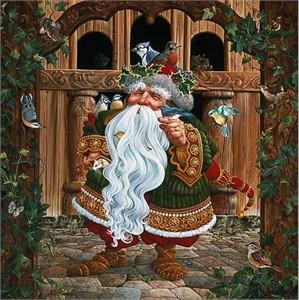 "James C. Christensen Limited Edition Print: ""Santa's Other Helper"""