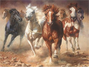 """Bonnie Marris Hand Signed and Numbered Limited Edition Giclée Canvas:""""The Power of Freedom"""""""