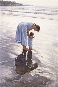 "Steve Hanks Limited Edition Anniversary Giclée Canvas:""Standing on Their Own Two Feet"""