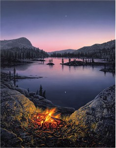 "Stephen Lyman Limited Edition Giclée Canvas:""Evening Star"""