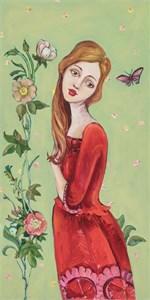 "Cassandra Barney Open Edition Canvas Giclee Suite ""Ex Votos: Little Expressions of Gratitude (Set of 9) """