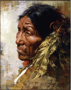 "Howard Terpning 90th Birthday Series Limited Edition Canvas Giclee:""The Ploy -Available  February 5, 2018"""