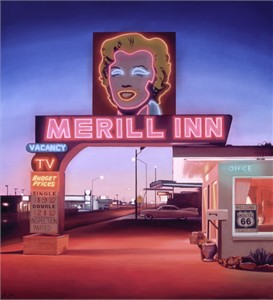 "Ben Steele Hand Signed and Numbered Limited Edition Giclee On Paper and Canvas:""Merill Inn"""
