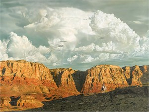 "John Bye Open Edition Gallery Wrap Canvas Giclee: ""Land of the Brave"""