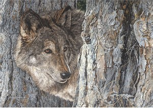 "Judy Larson® Artist Hand Signed and Numbered Limited Edition Fine Art Giclee on Canvas:""Looking for Love"""