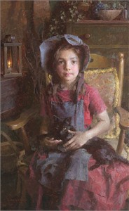 """Morgan Weistling  Handsigned and Numbered Limited Edition Canvas Giclee:""""Confidante"""""""