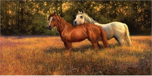 """Bonnie Marris Handsigned and Numbered Limited Edition Canvas Giclee:""""Summer Fields"""""""