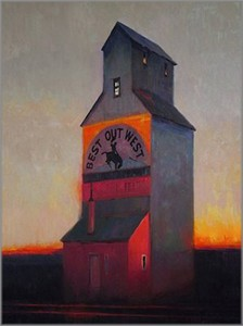 "Tom Gilleon Hand Signed and Numbered Limited Edition Giclee on Canvas:""Best Out West"""