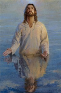 "Morgan Weistling Open Edition Fine Art  Giclee on Canvas:""Reflection of God"""