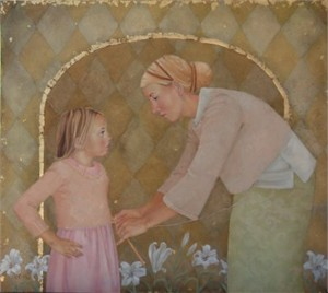 """Emily McPhie Hand Signed and Numbered Limited Edition Canvas:""""Windows of Heaven"""""""