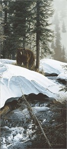 "Rod Frederick Handsigned and Numbered Limited Edition Anniversary Giclée Canvas:""Barely Spring"""