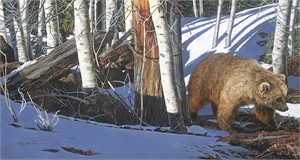 "Judy Larson Hand Signed and Numbered Limited Edition Giclee Print on Paper:""Breaking the Silence"""