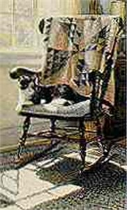 """Steve Hanks Limited Edition Print: """"The Cat's Lair"""""""