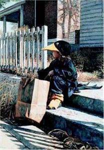 "Steve Hanks Limited Edition Print: ""Little Black Crow"""