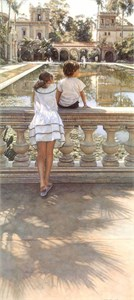 "Steve Hanks Limited Edition Print: ""Places I Remember"""