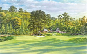 "Steve Lotus Open Edition Print:""2001 Atlanta Club Official Poster"""