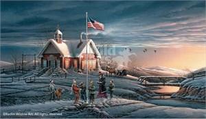 "Terry Redlin Limited Edition Print: ""America! America!"""