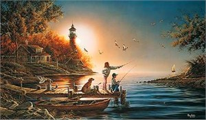 "Terry Redlin Limited Edition Print: ""From Sea to Shining Sea"""