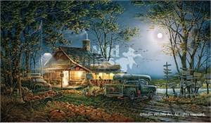 "Terry Redlin Limited Edition Print: ""Autumn Traditions"""