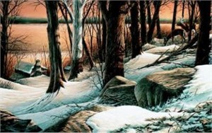 "Terry Redlin Limited Edition Print: ""Boulder Ridge"""