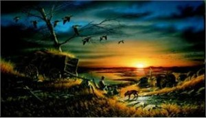 "Terry Redlin Limited Edition Print: ""Lifetime Companions"""