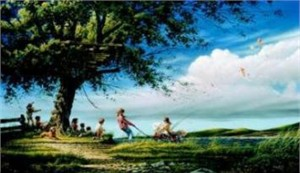 "Terry Redlin Limited Edition Print: ""Spring Fever"""