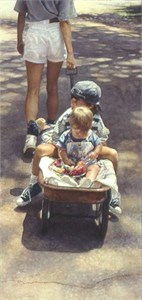 "Steve Hanks Limited Edition Print: ""Traveling at the Speed of Life"""