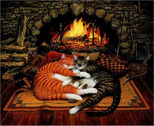 "Charles Wysocki Limited Edition Print: ""All Burned Out"""