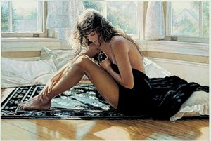 "Steve Hanks Limited Edition Print: ""Comforting the Heart"""